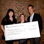 Weh Yeoh receives donation