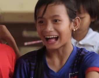 Len Mary smiling