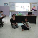 volunteers at Happy Kids Clinic