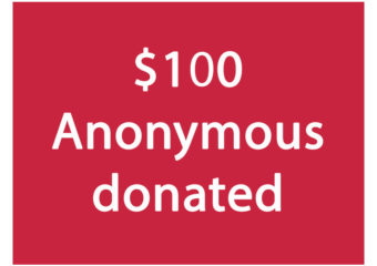 $100-Anonymous